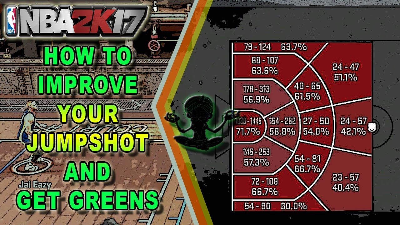 Nba 2k17 How To Improve Your Jumpshot Easy Easiest Way To Get