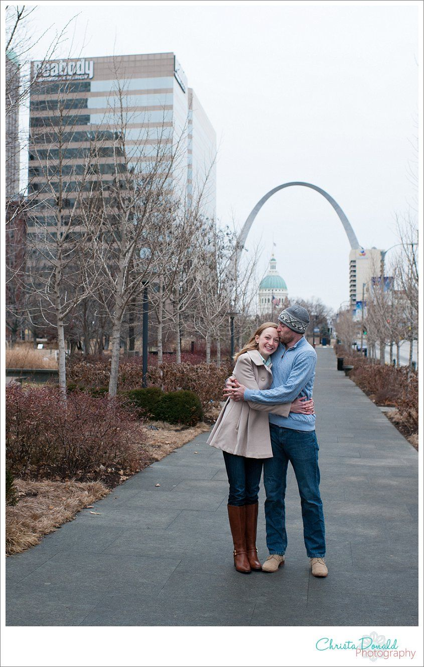 Downtown St Louis Engagement Stl Mo Wedding Photographer Christa Donald Photography The
