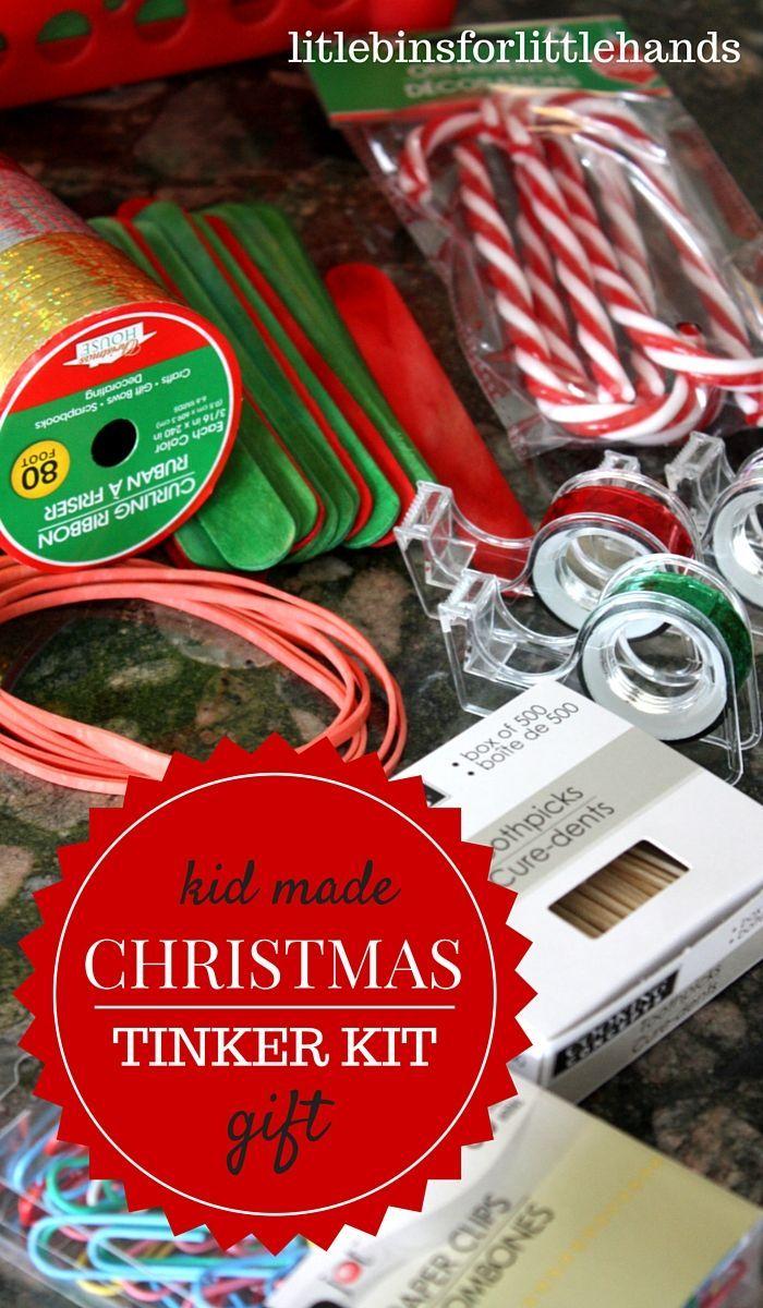 Christmas Tinker Kit DIY Gift for Kids to Give   Kids Engineering ...