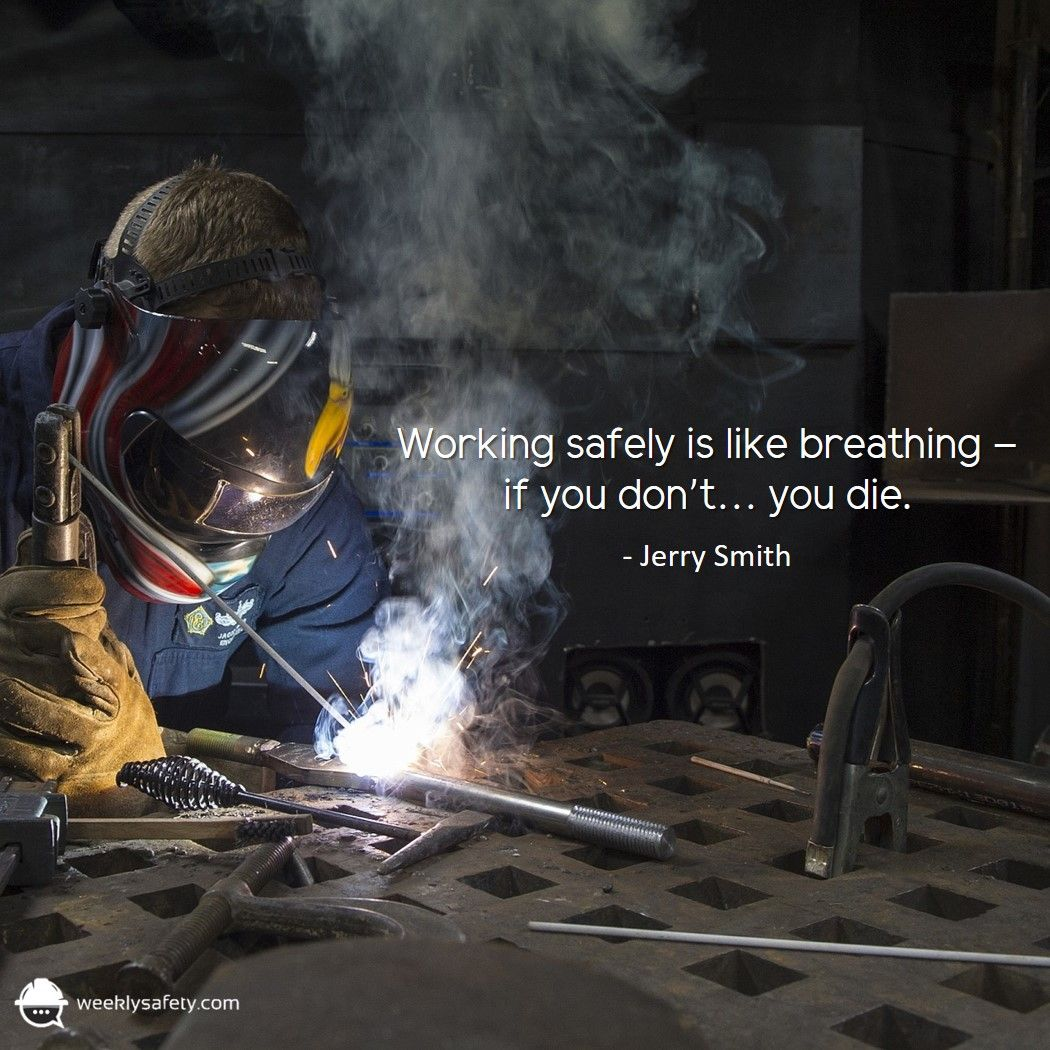 All safety quotes courtesy of the team at