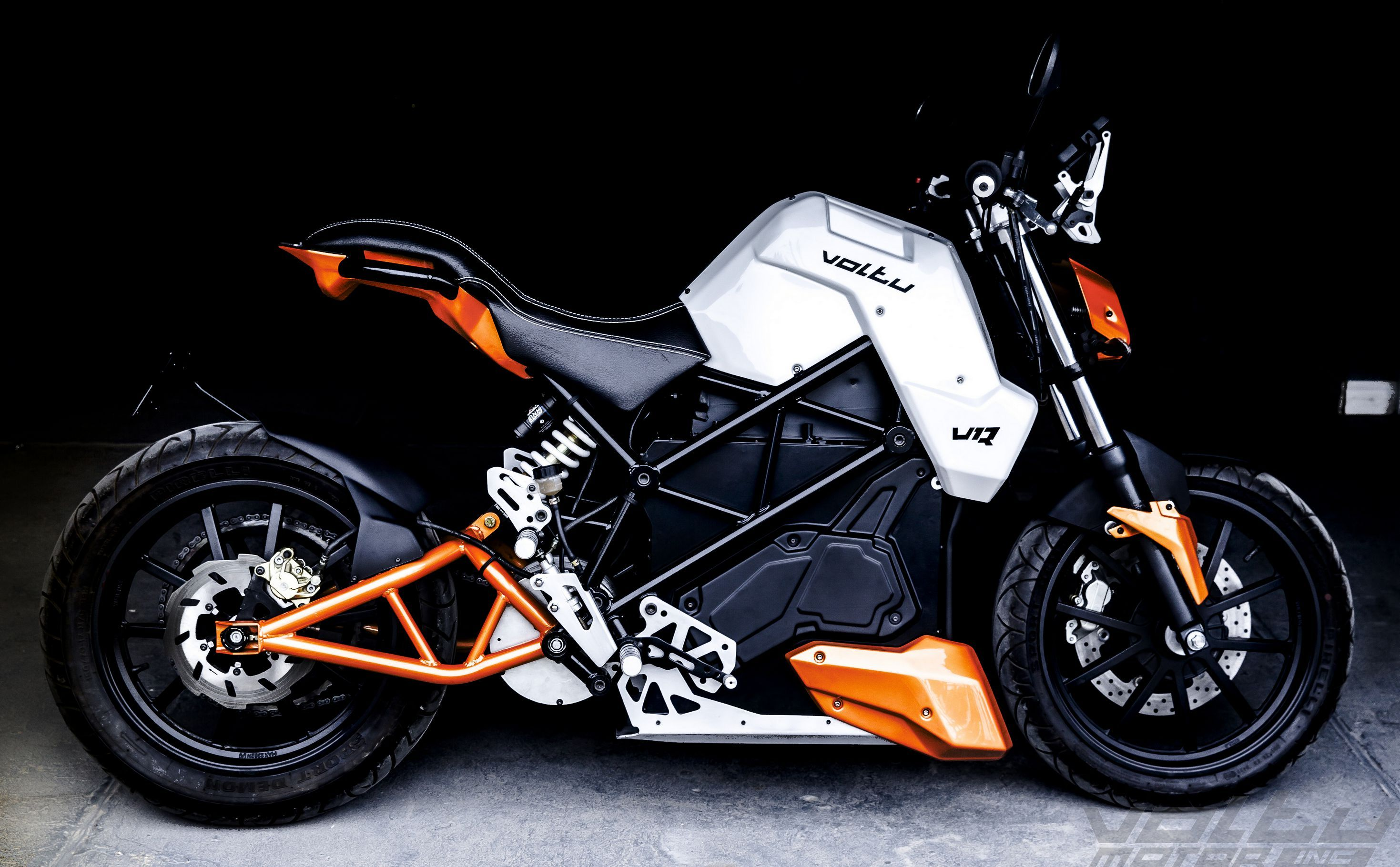 Voltu motor inc designs develop and manufactures fully electric motorcycles with proprietary drivetrain technology