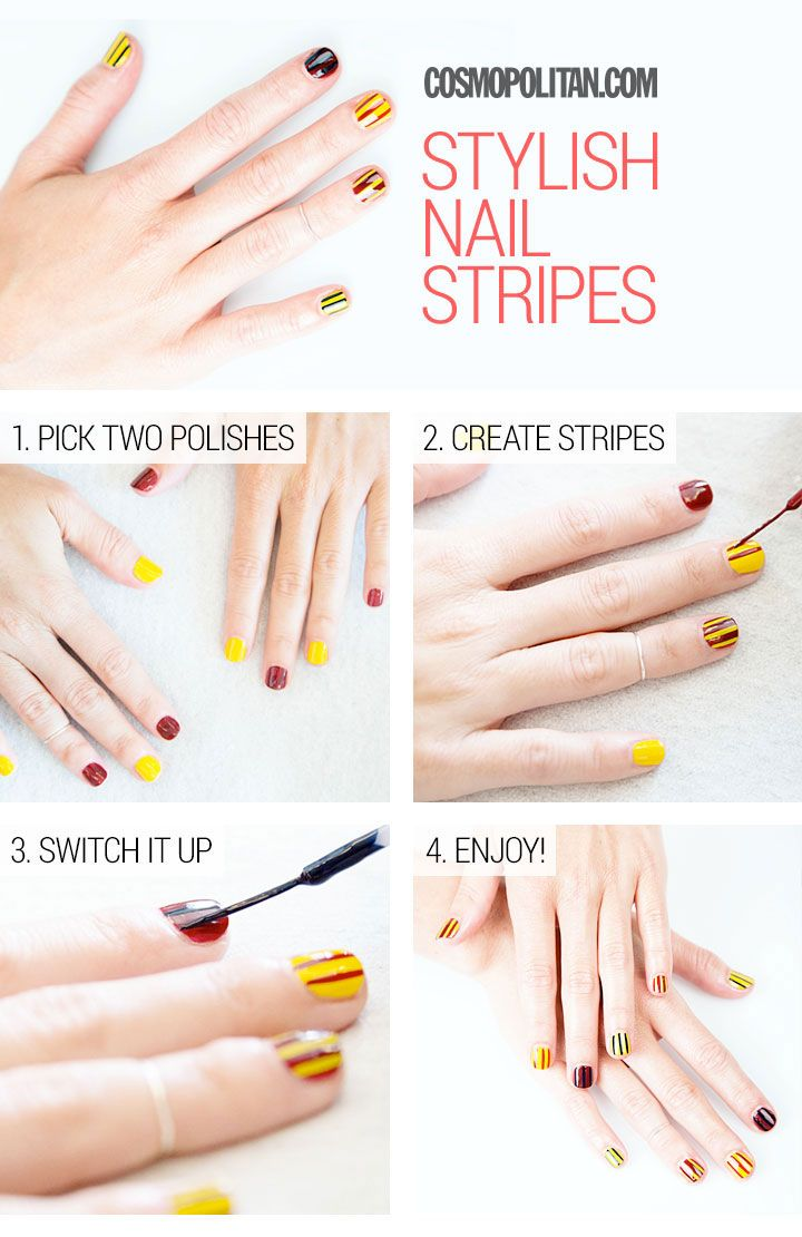 Street style inspired nail art you can actually do yourself nail street style inspired nail art you can actually do yourself solutioingenieria Gallery