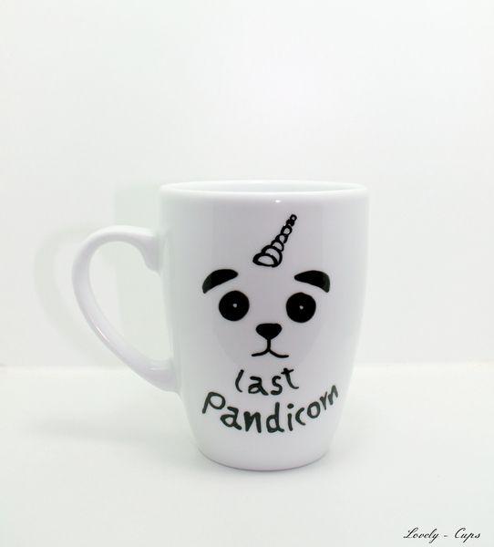 tasse last pandicorn panda einhorn tasse von lovely cups auf panda. Black Bedroom Furniture Sets. Home Design Ideas