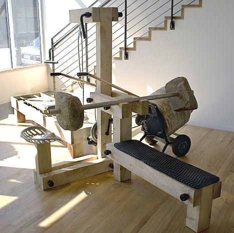 Charmant Exercise Machine. Fun