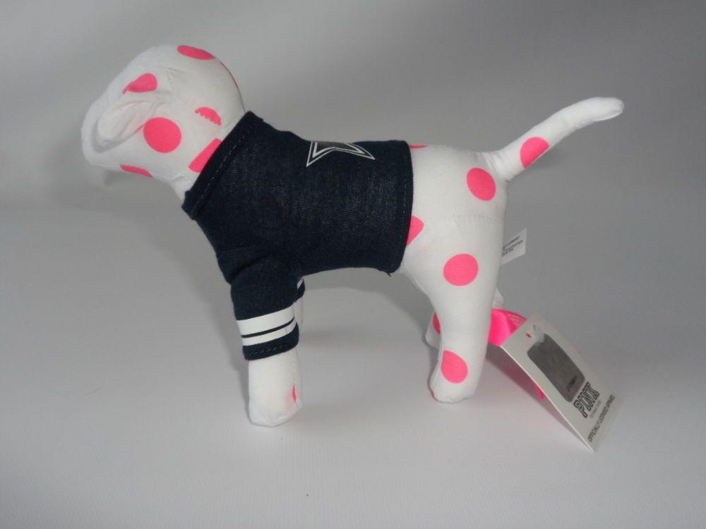 New Victoria S Secret Pink Nfl Dallas Cowboys Limited Edition Dog