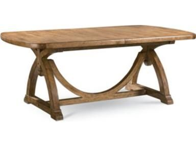 Shop For Thomasville Pacific Trestle Dining Table 46421 771 And Other Dining Room Dining Tables At W Thomasville Furniture Dining Table Trestle Dining Tables