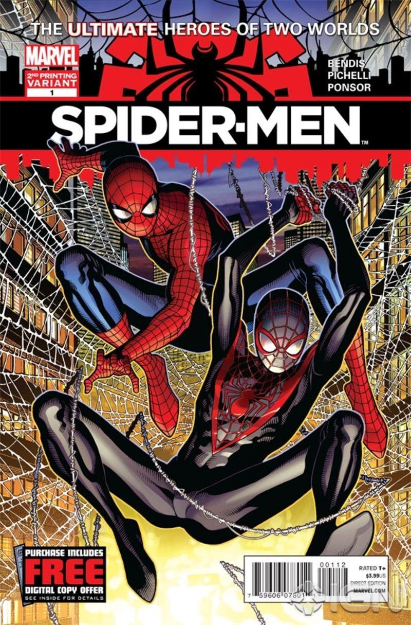 Spider Men 1 Comic Book Review Spiderman Spiderman Comic Ultimate Spiderman