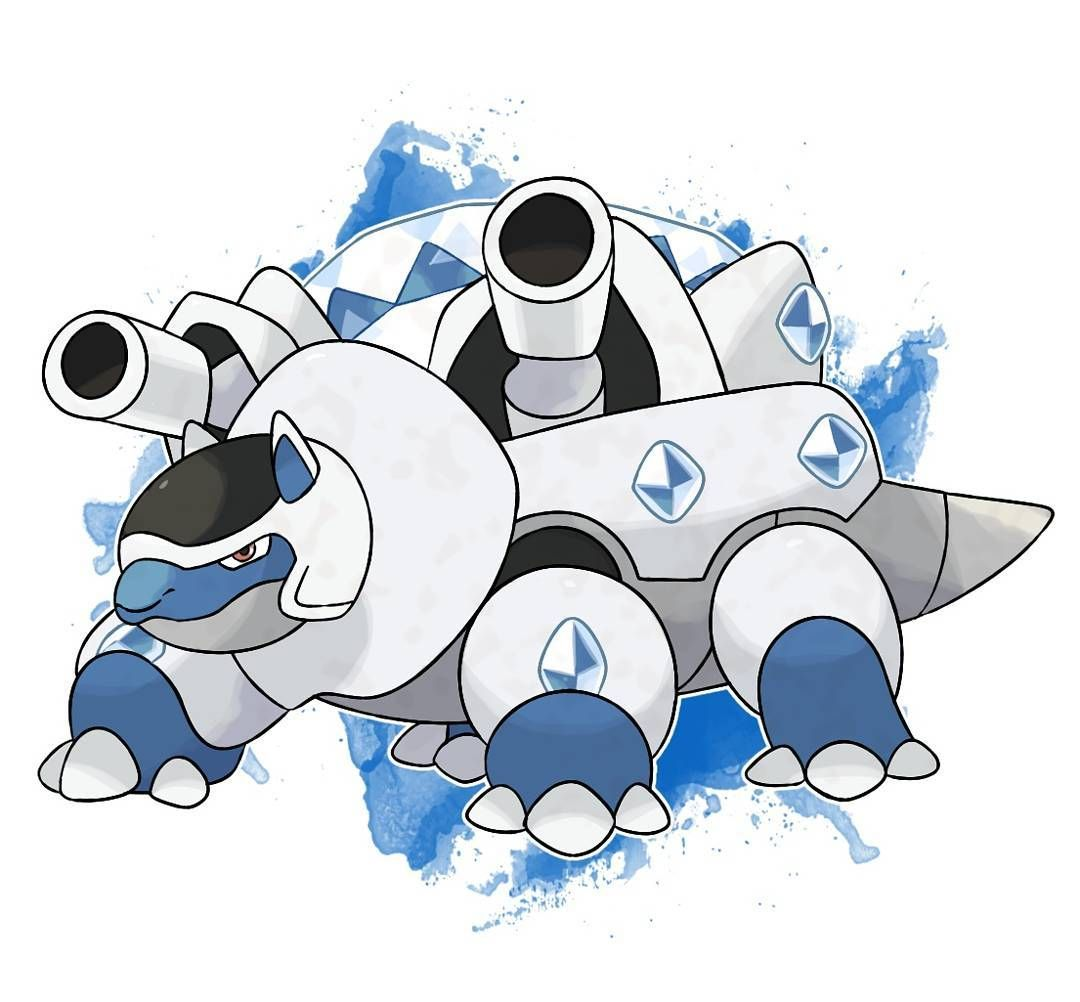 Mega blastoise x steel water by devildman devildman pokemon i wanted - Pokemon tortank mega evolution ...