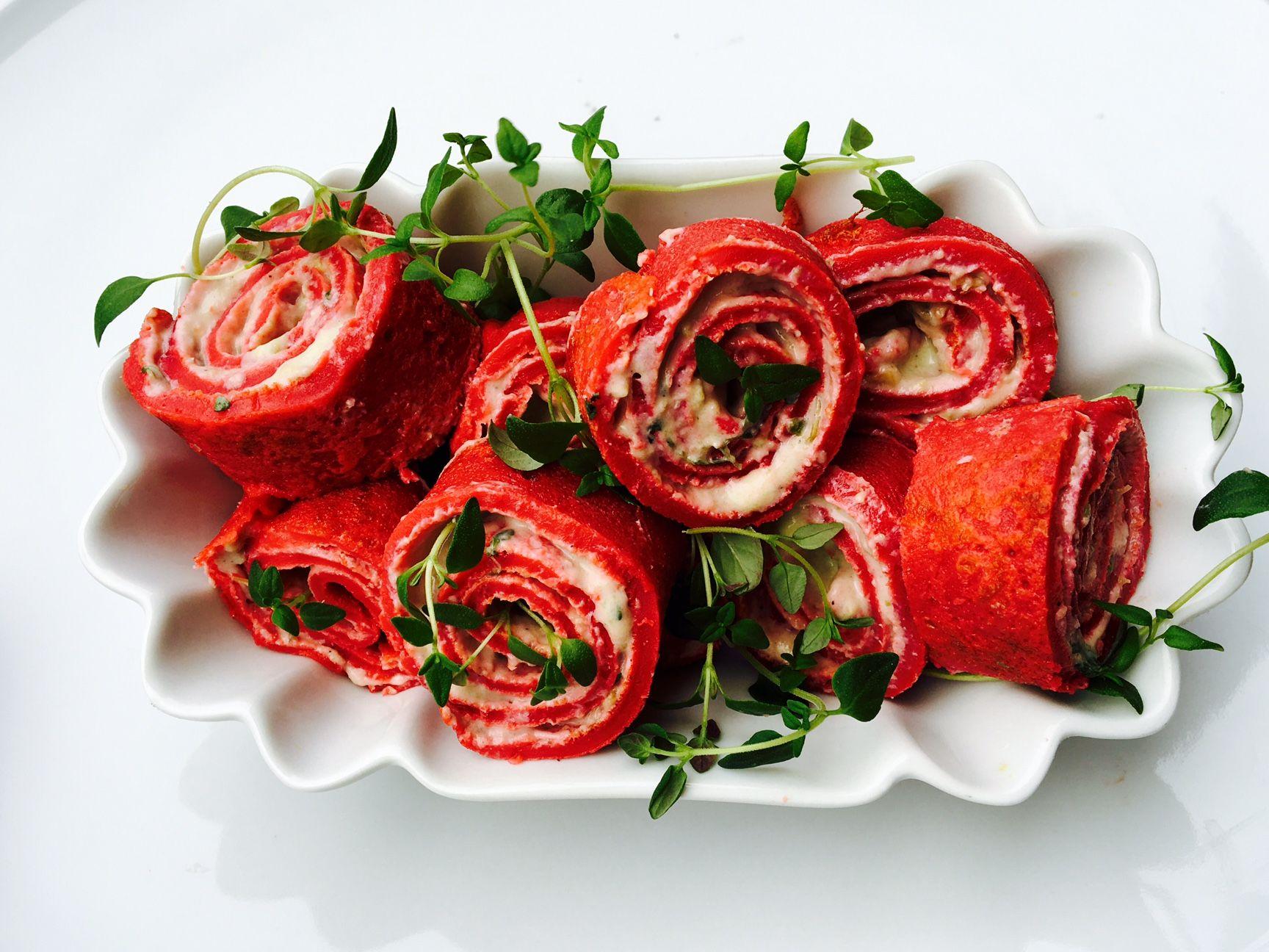 Lovecakes U2013 Rote Beete Pfannkuchen Zum Valentinstag #Backen #Kochen  #Lovecakes #Snacks #