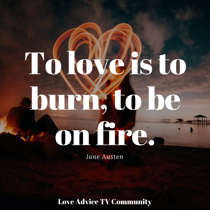 50+ Quotes About Fire And Love