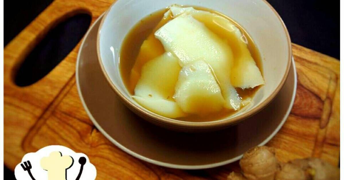 Resep Kembang Tahu Kuah Jahe Tau Huay Soya Milk Pudding Oleh Elza Simple Kitchen Resep Makanan Resep Puding