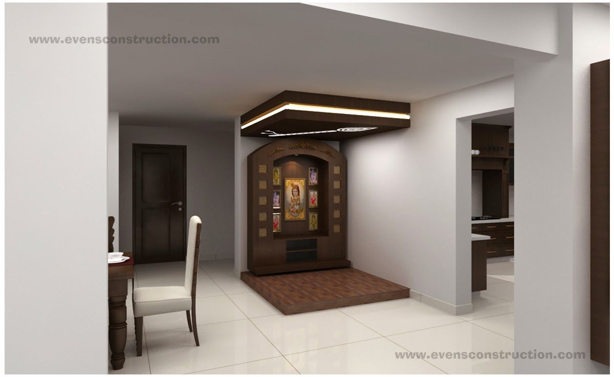 Evens Construction Pvt Ltd Puja Room and