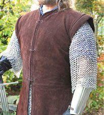 Leather Jerkin Viking Costume Renaissance Costume Diy Medieval