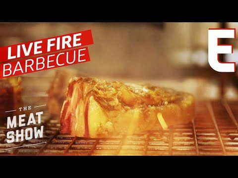 Temper London has a Massive Fire Pit Right Smack in the Dining Room — The Meat Show - YouTube