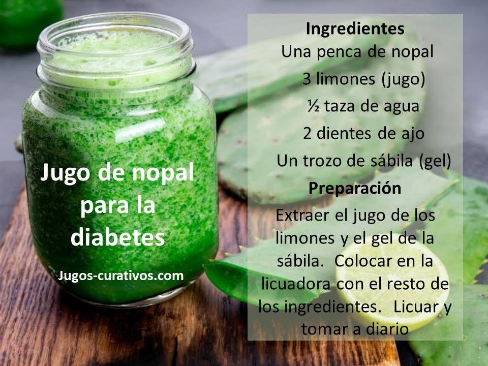 pastillas de cactus para la diabetes