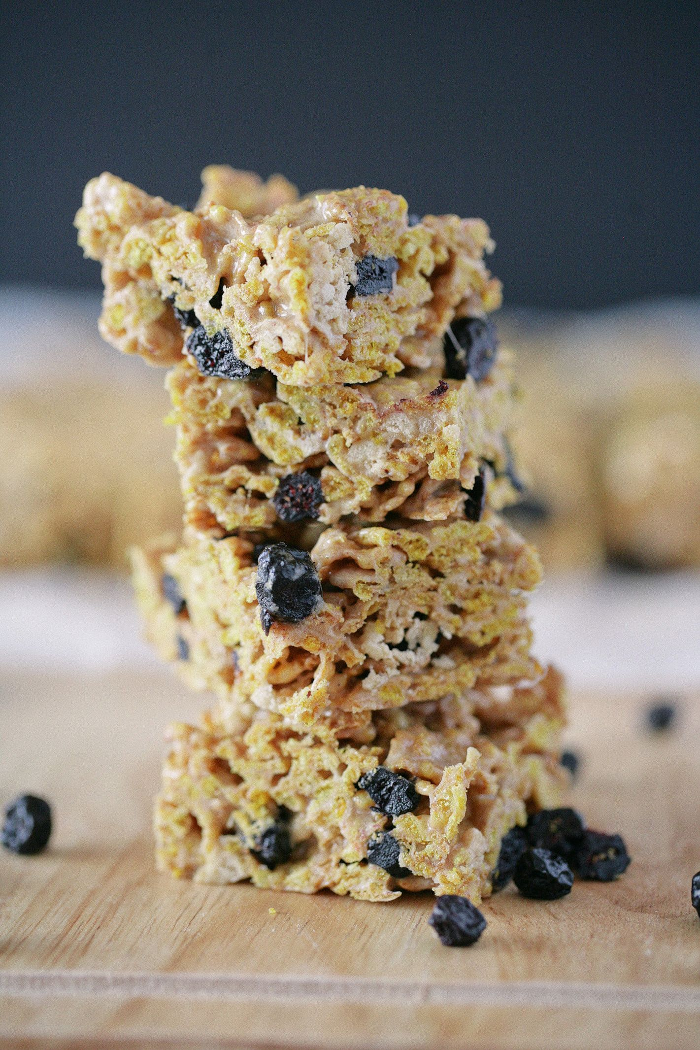 Brown butter vector cereal squares recipe cereal bars