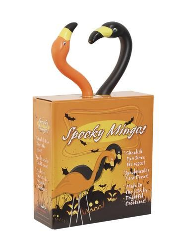 2 pack spooky mingo assortment at menards i love flamingos - Menards Halloween Decorations