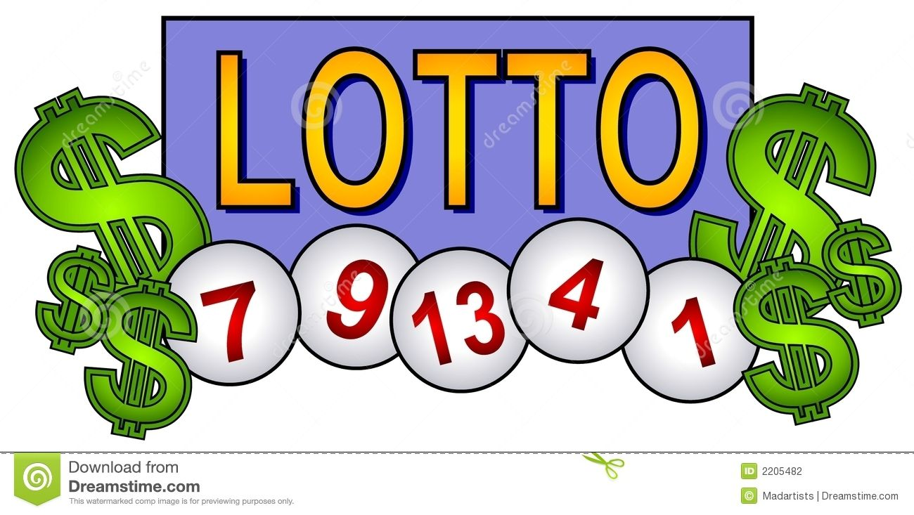 Subscribe 7th. Lottery ticket clip art
