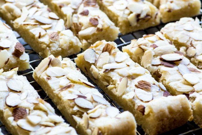 Buttery Scandinavian Almond Bars Are The Perfect Treat For All The Almond Lovers In Your Life Theviewf Almond Bars Almond Meal Cookies Scandinavian Desserts