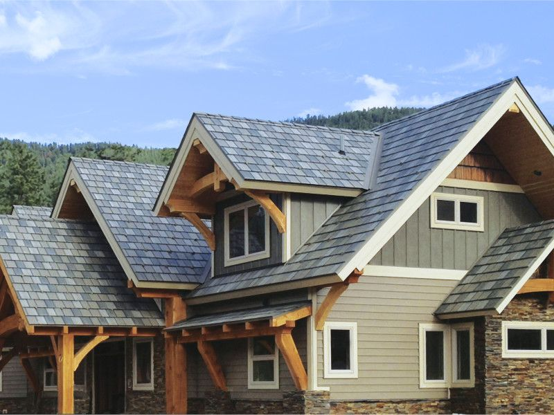 EDCO Presents Arrowline U0026 Generations Steel Roofs. Our Slate And Shake Metal  Shingles Styles Set