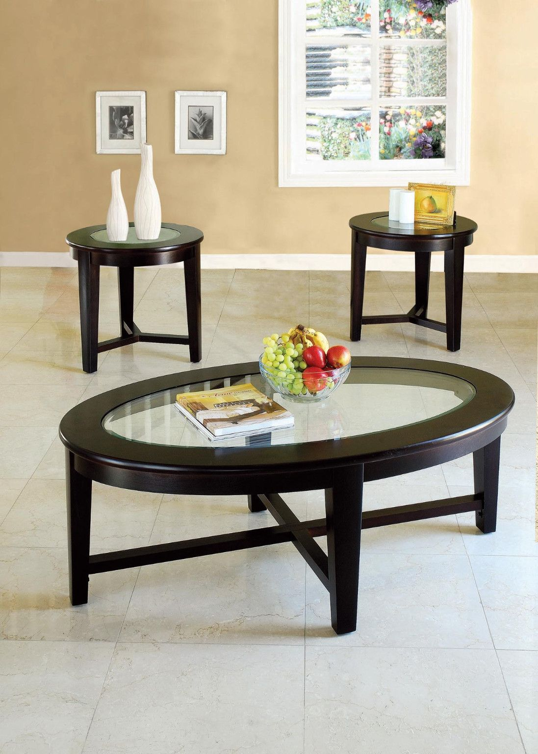 3 Piece Table Set Coffee table and 2 End Tables 399.00