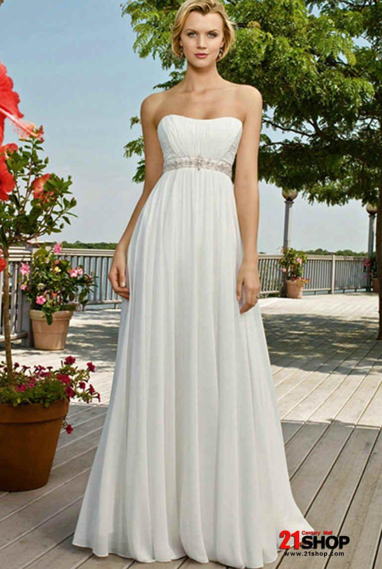 Wedding renewal dresses for beach  Chiffon Wedding Dresses  Wedding  Pinterest  Chiffon wedding