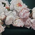 Red Roses Painting by Thomas Darnell