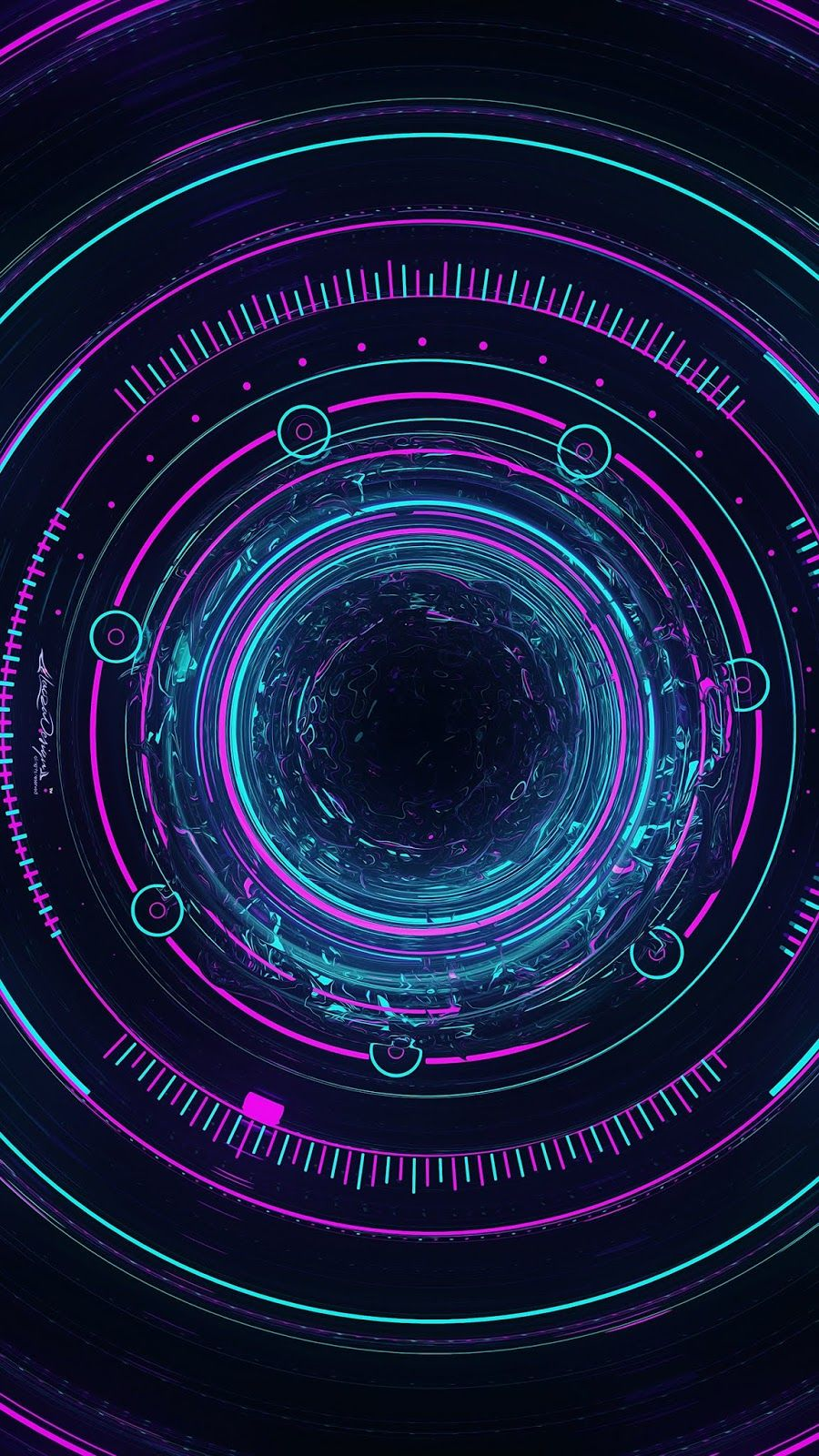 Abstract Circle Wallpaper Iphone Android Background Followme Technology Wallpaper Android Wallpaper Beautiful Wallpapers