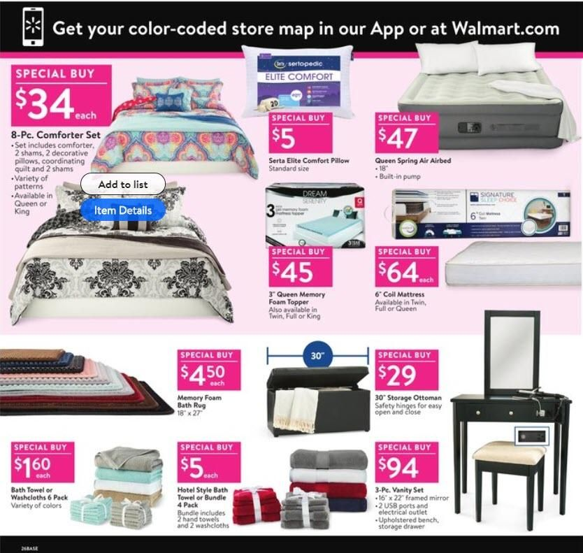 Print Ad Walmart Black Friday 2018 Walmart Walmart Black Friday Ad Black Friday