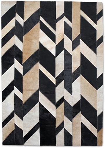Soho Rugs Leather Rugs Collection Askew Patchwork