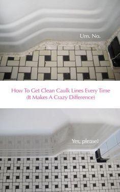 Cleaner calk lines e