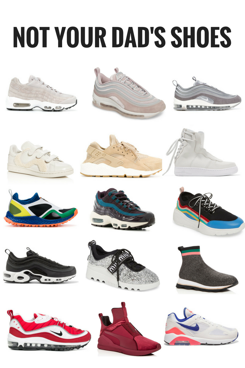 Not Your Dad's Shoes: Sneaker Round up | • Fashion•Bloggers