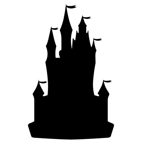 Prince silhouette stickers ch teau de princesse for Image chateau princesse