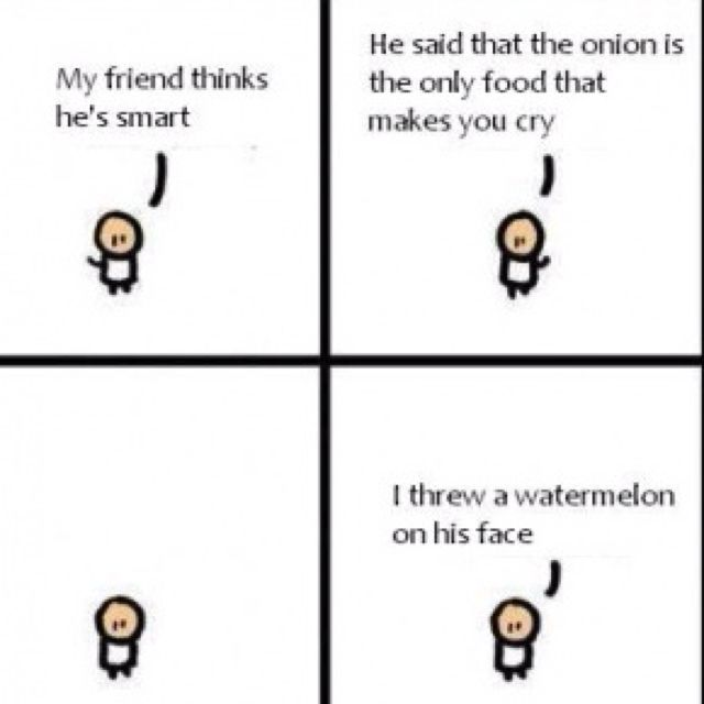 Watermelon Makes You Cry Hahahaha Funny Good Morning Quotes Funny Love Images Morning Quotes For Friends