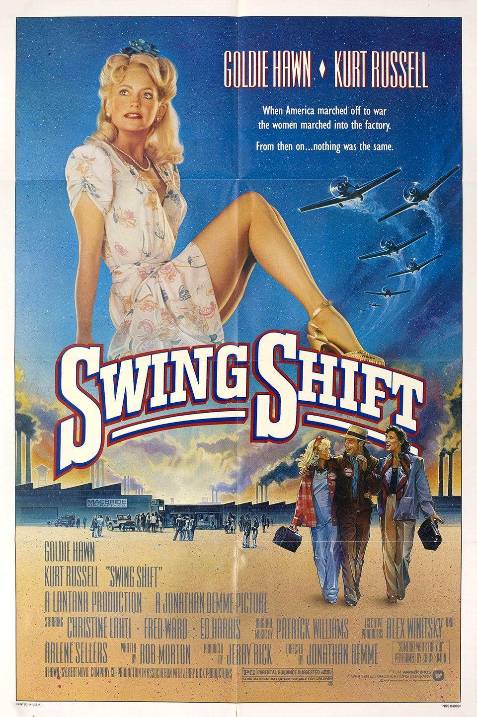Swing Shift 1984 U.S. One Sheet Poster Posteritati Movie