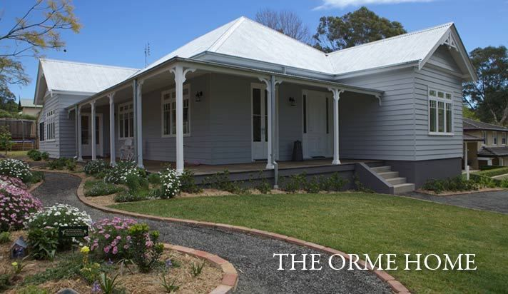 Www Strongbuild Com Au Classic Designs Classic Country Homes The Orme Home Country House Design House Porch Design Australian Country Houses