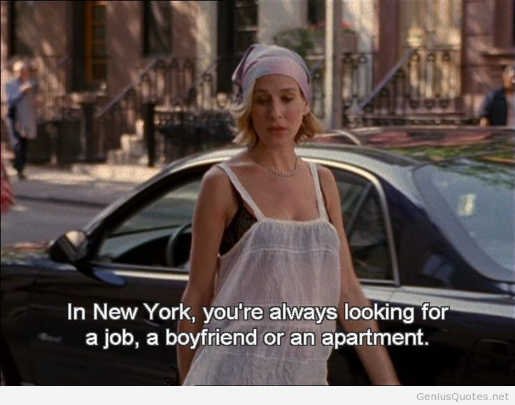 Sex and the city quotes on new york