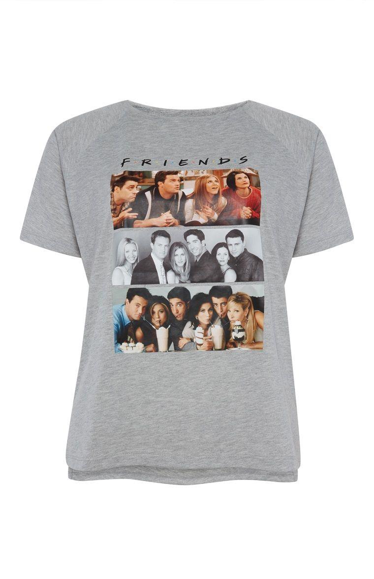 83ca8a4d8 Primark - Grey Friends T-Shirt | Tees | Shirts, Friends, T shirt