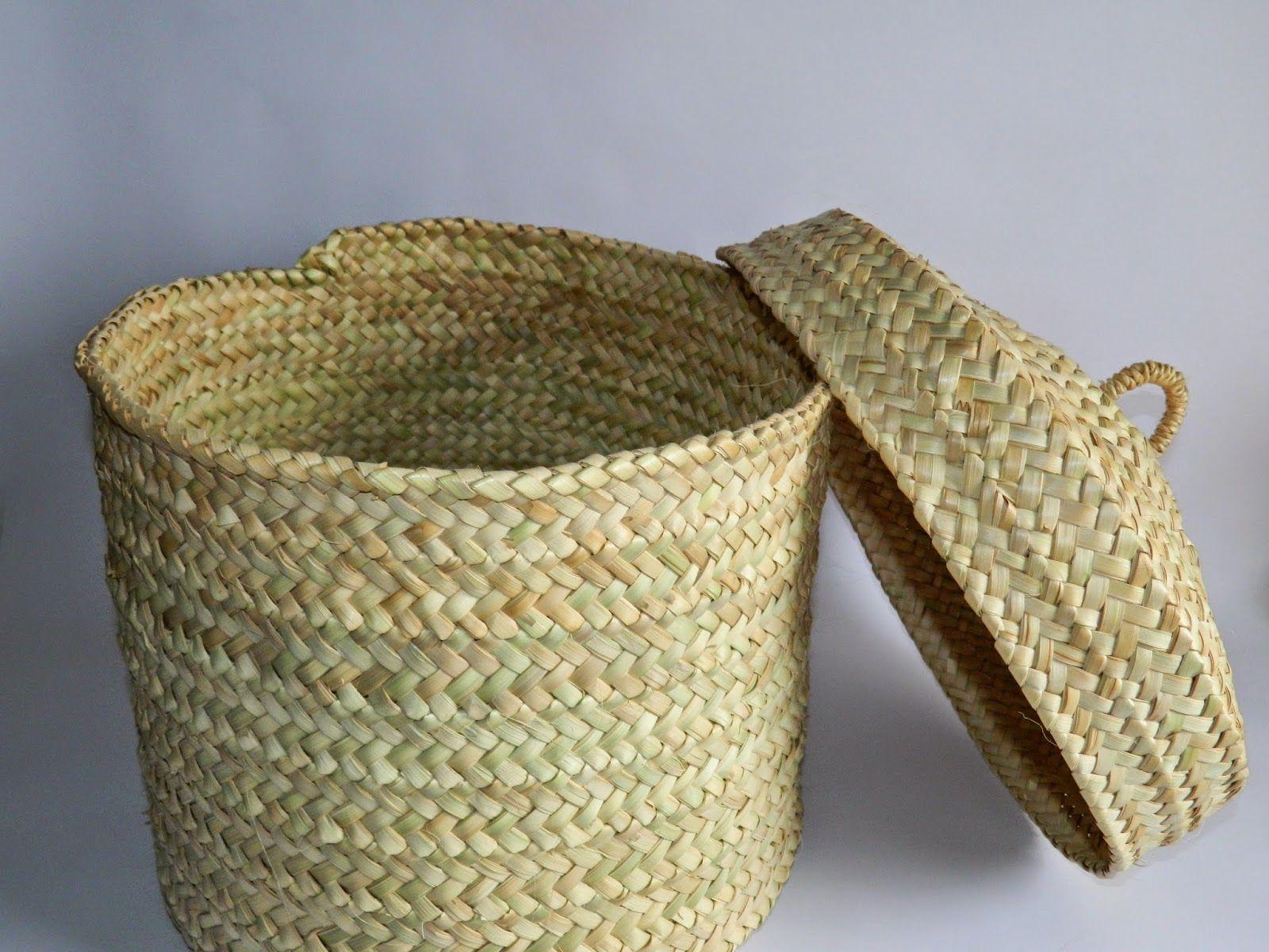 Blog sobre artesan a de palma trabajos tradicionales de - Cestos de palma ...
