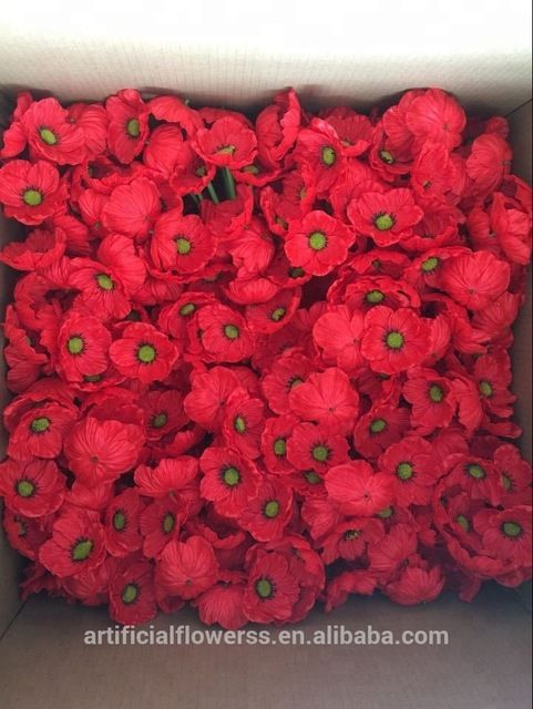 Artificial flowers pu red poppy flowers for wedding decoration buy artificial flowers pu red poppy flowers for wedding decoration buy artificial flowers for salewedding flowerdecorative artificial flower making product mightylinksfo