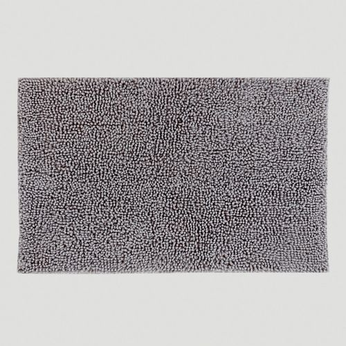 Frost Gray Shag Bath Mat in  from Cost Plus World Market on shop.CatalogSpree.com, your personal digital mall.