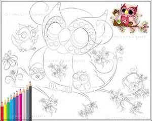 Baby Owl Coloring Pages - Bing Images