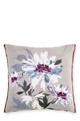 buy delicate floral embellished cushion from the next uk online shop rh pinterest com