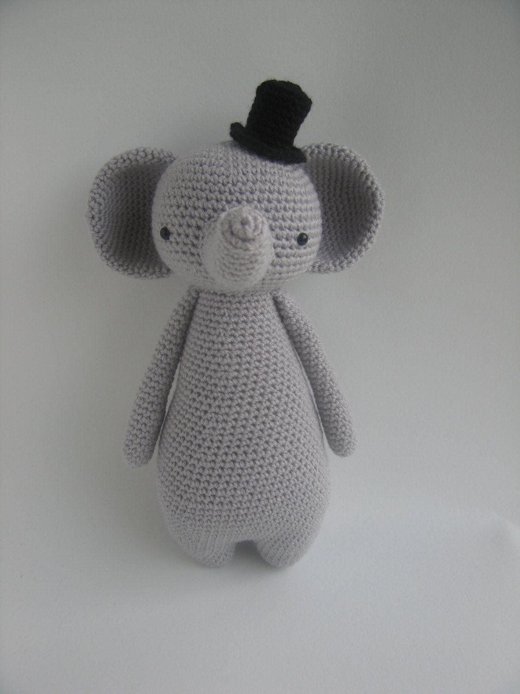Crochet Stuffed Elephant Pattern Custom Ideas