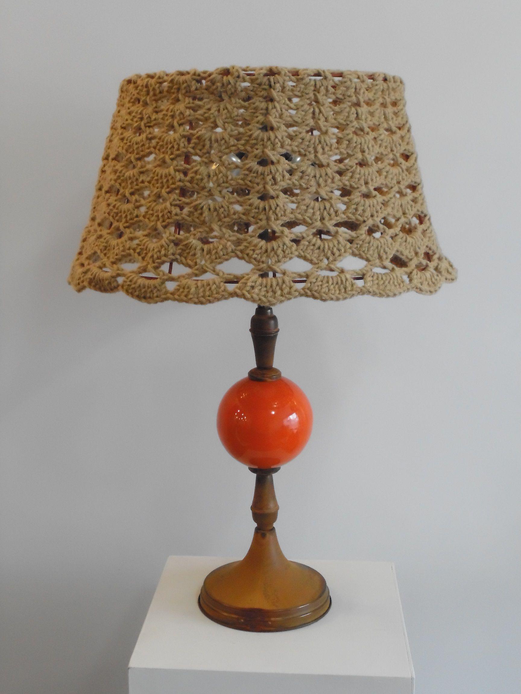 Pantallas Para Lamparas Al Crochet Buscar Con Google Lampara De Ganchillo Pantalla Para Lampara De Ganchillo Lamparas