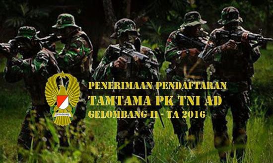 Penerimaan Tamtama Tni Ad 2016 Gel Ii Gelombang
