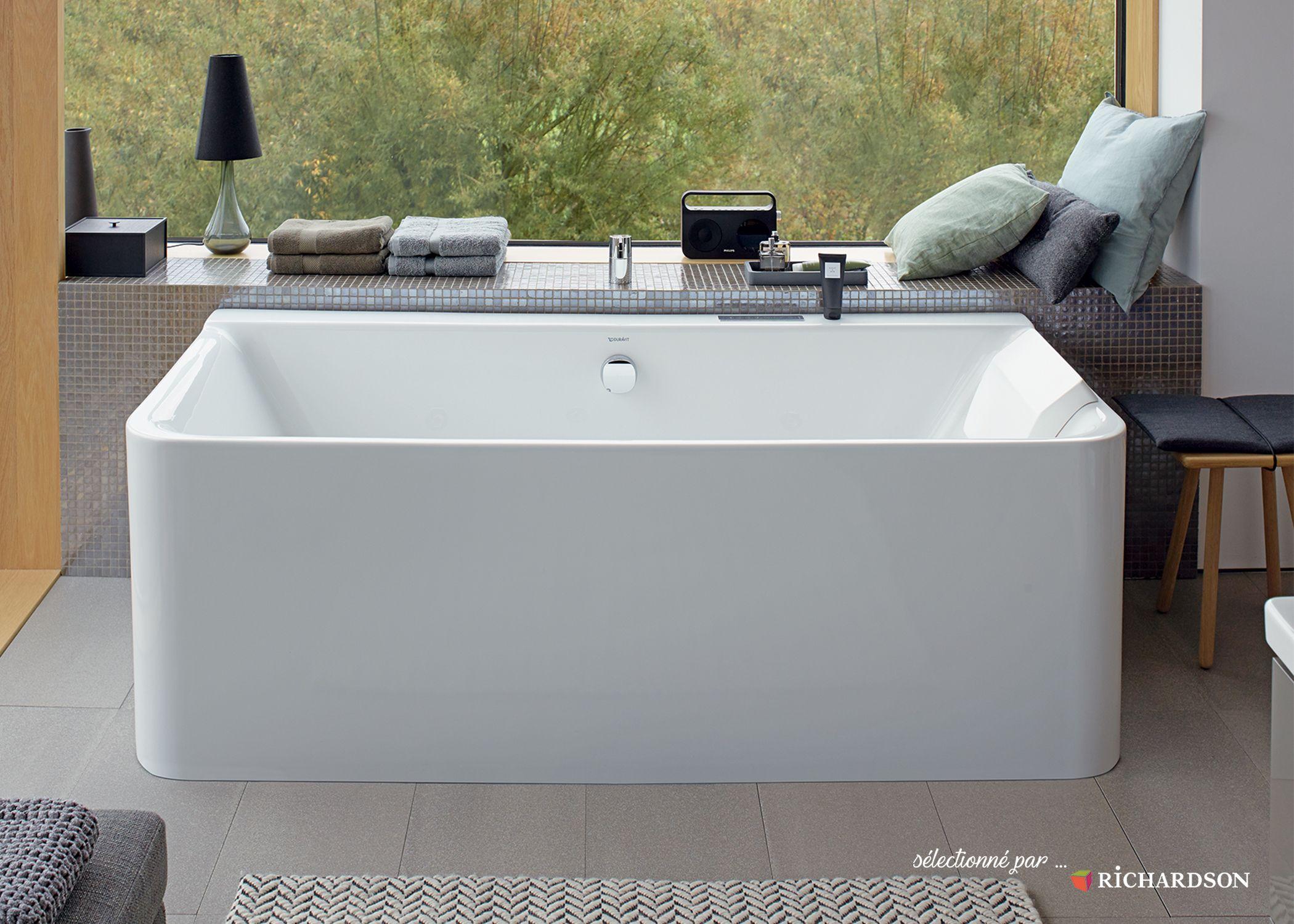 duravit p3 comforts baignoire rectangulaire version tablier 3 faces avec habillage acrylique sans - Pose Baignoire Acrylique Avec Tablier