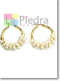 a90550a13 aprenda a hacer Aretes de perlas