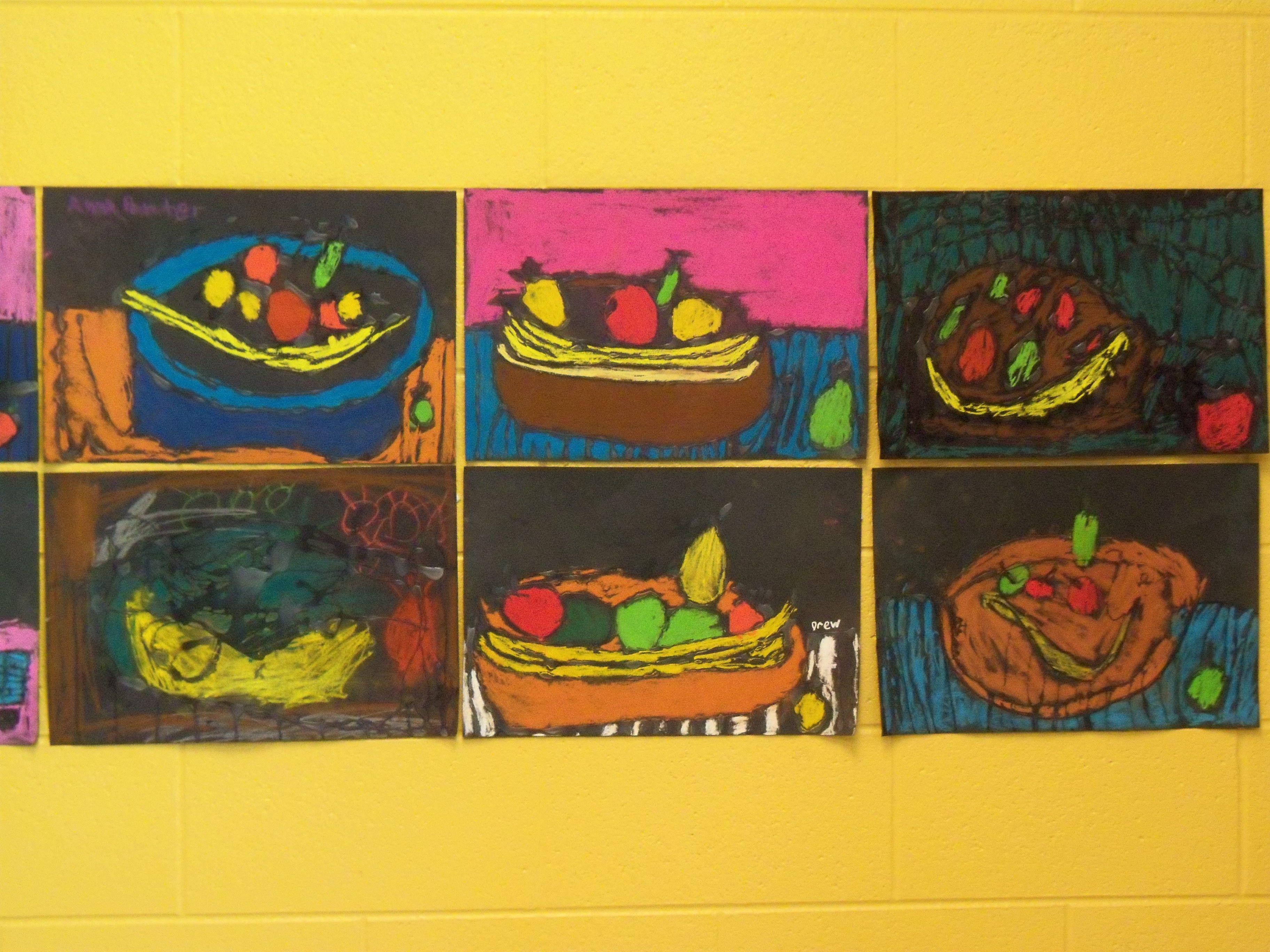 1st Grade Fruit Still Life