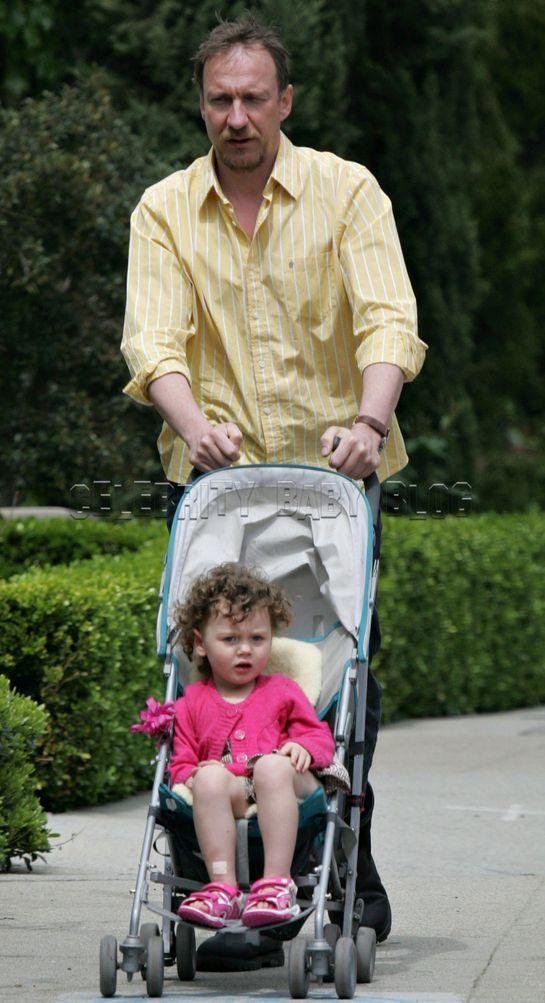 David Thewlis with child